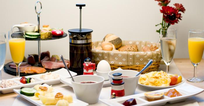 Frühstück in Jakobs Café